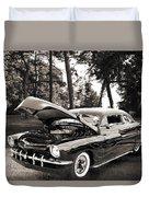 1951 Mercury Classic Car Photograph 006.01 Duvet Cover