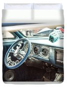 1961 Mercury Classic Car Photograph 021.02 Duvet Cover