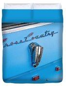 1961 Rambler Cross Country Emblem Duvet Cover