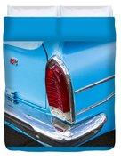 1961 Rambler Cross Country Tail Light Duvet Cover