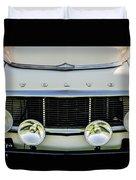 1961 Volvo Pv544 Grille Emblem -1511c Duvet Cover