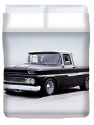 1962 Chevrolet Shortbed Pickup I Duvet Cover