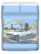 1962 Classic Cadillac Duvet Cover