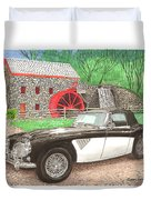 1963 Austin And Sudbury Mill Duvet Cover by Jack Pumphrey