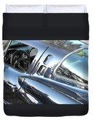 1963 Corvette Stingray Duvet Cover