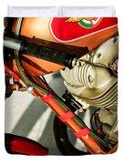 1964 Ducati 250cc F3 Corsa Motorcycle -2727c Duvet Cover