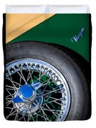 1964 Morgan 44 Spare Tire Duvet Cover