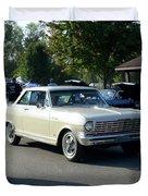 1964 Nova Ss Pennington Duvet Cover