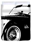 1964 Shelby Cobra Sketch Duvet Cover