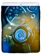 1965 Aston Martin Db5 Coupe Rhd Steering Wheel Duvet Cover