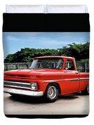 1965 Chevrolet 3100 Pickup I Duvet Cover