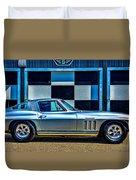 1965 Corvette Fuelie Duvet Cover
