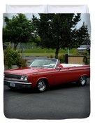 1965 Dodge Coronet 500 Higgins Duvet Cover