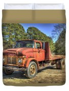 1965 Ford F600 Snub Nose Commercial Truck Duvet Cover