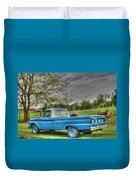 1965 Ford Duvet Cover