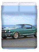 1965 Ford Mustang Fastback II Duvet Cover