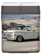 1965 Ford 'twin I Beam' Pickup Duvet Cover