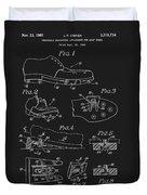 1965 Golf Shoes Patent Duvet Cover