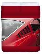 1965 Mustang Fastback Duvet Cover
