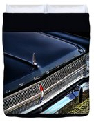 1965 Plymouth Satellite 440 Duvet Cover