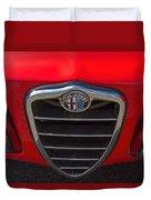 1966 Alfa Romeo Emblem Duvet Cover