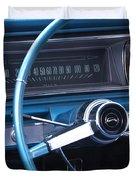 1966 Chevrolet Impala Dash Duvet Cover