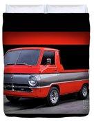 1966 Dodge A100 Pickup Duvet Cover