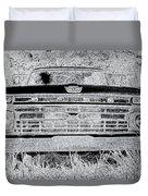 1966 Ford F100 Sketch Duvet Cover