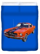 1966 Ford Mustang Fastback Duvet Cover