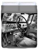 1966 International Scout Driver's Side B Duvet Cover