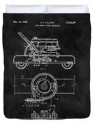 1966 Lawn Mower Patent Image Duvet Cover