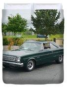 1966 Plymouth Belvedere Rapp Duvet Cover