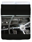 1966 Plymouth Satellite Dash Duvet Cover