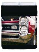 1966 Pontiac Gto Grill Duvet Cover