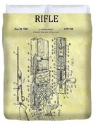 1966 Rifle Patent Duvet Cover
