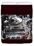 1967 Chevrolet Chevelle Ss Engine Duvet Cover