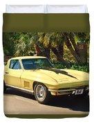 1967 Chevrolet Corvette Sport Coupe Duvet Cover