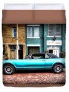 1967 Cougar Gt _hdr Duvet Cover