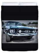 1967 Ford Mustang Duvet Cover