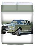 1967 Mustang 'shelby Gt 500' Duvet Cover