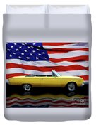1967 Plymouth Belvedere Tribute Duvet Cover