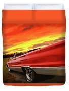 1967 Plymouth Satellite Convertible Duvet Cover