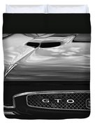 1967 Pontiac Gto Duvet Cover by Gordon Dean II