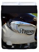 1967 Triumph Gas Tank 2 Duvet Cover