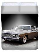 1968 Chevelle Super Sport Ll Duvet Cover