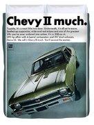 1968 Chevy Nova Ss Duvet Cover