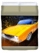 1968 Dodge Charger Coupe Duvet Cover