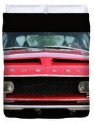 1968 Ford Mustang Shelby Gt500 Kr Duvet Cover