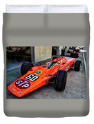 1968 Lotus 56 Turbine Indy Car #60 Angle Duvet Cover