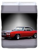 1968 Pontiac Firebird 400 Convertible Duvet Cover